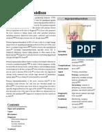 Wikipedia Hyperparathyroidism