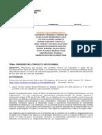 CONFLICTO ARMADO (ELECTROMECANICA)