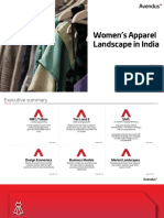 Avendus Report - Womenswear Landscape in India