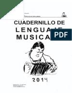 Cuadernillo de lenguaje musical