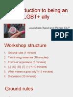 LGBT Allies Workshop