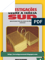 Investigações sobre a Igreja SUD - Volume 1