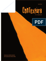 Revista Contextura, n. 5, 1o semestre de 2013