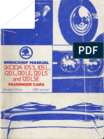 Manual Service Skoda Octavia 1997