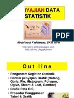 Statistik Kesehatan - PERTEMUAN IV - Penyajian Data Statistik