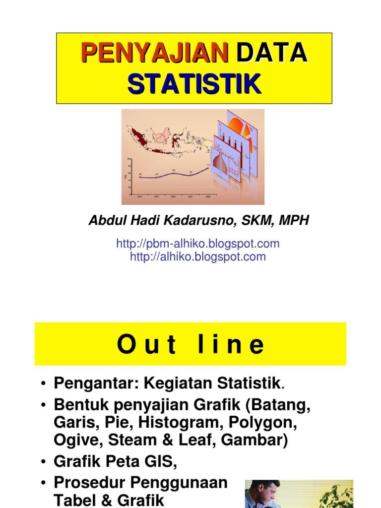 Statistik kesehatan pertemuan iv penyajian data statistik ccuart Choice Image