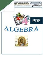 ALGEBRA 4°° GRADO 2019
