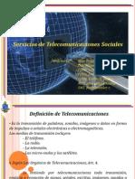 Servicios de Telecomunicaciones Sociales