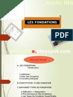331564395 Expose Les Fondations