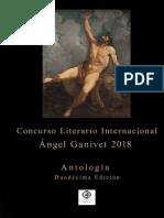 Antología Concurso Ángel Ganivet 2018
