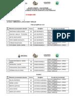 Centralizator Elevi Calificați Faza Județeană