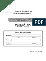 A. Matemática 2° Primaria_2016-I