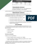Declinaciones (Etimologías)