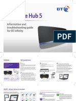 BT Home Hub 5 Self Install Guide