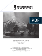 2017 - Annual Report - MISCELLANEOUS Productions