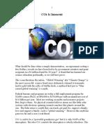 CO2 is Innocent
