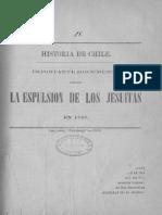 La Expulsion de Los Jesuitas Chile