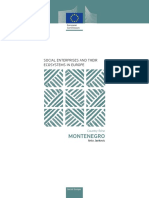 Social Enterprises and Their Ecosystems in Europe. Country Fiche Montenegro