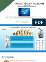 Origen y Evolucion de Las Telecomunicaciones