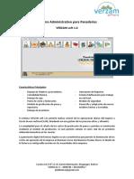 Sistema Administrativo Version 2.0. PEDRO PAYARES