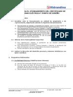 Requisitos Para El Otorgamiento de Factibilidad y Punto de Diseño - Hidrandina