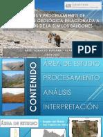 exploración geológica prospectos Los Balcones