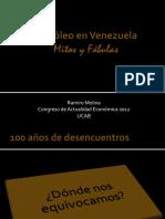 9.- Ramiro Molina - Mitos y Fábulas sobre Petróleo en Venezuela.pptx