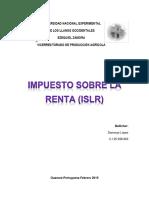 Impuesto Sobre La Renta(ISLR) Damarys