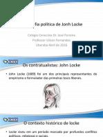 A Filosofia Politica de Jonh Locke