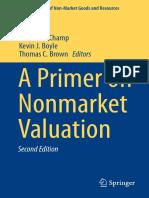 Nonmarket Valuation
