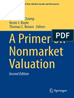 Nonmarket Valuation