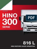 Hino 816L Ficha Tecnica Dic17