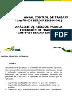 Resumen Control de Trabajo y Análisis de Riesgos