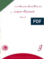 Laurent - Principios del derecho civil francés