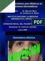 08 - Traslado Del Paciente Quemado-Dr. Sereday