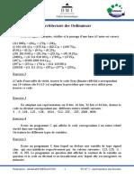 Architecture Des Ordinateur TD_2