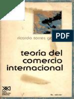 Teoria del Comercio Internacional de Torres Gaytan