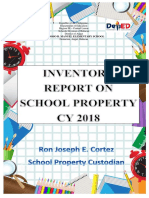 Front Page Inventory Report CY 2018-TRMES
