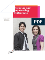 Pwc Engaging and Empowering Millennials