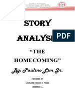 Story Analysis of The Homecoming
