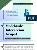 Modelos de Interacción Grupal