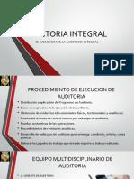 Ejecucion de Auditoria Integral