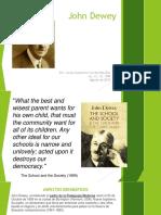 Presentación John Dewey Verd