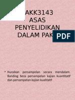 PAKK3143 - persampelan