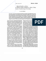 G. a. German-Mental Health in Africa I