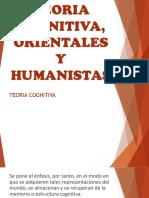 Teoria Cognitiva, Orientales y Humanistas (1)
