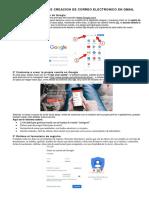 Cómo Crear Una Cuenta Gmail o Correo de Google Paso a Paso
