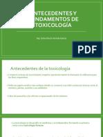 FUNDAMENTOS Y ANTECEDENTES DE LA TOXICOLOGÍA ALIMENTARIA.pptx