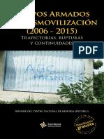 Grupos posdesmovilización