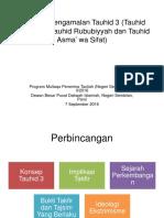 2016 09 07 Tauhid 3 dan Isu2nya .pptx